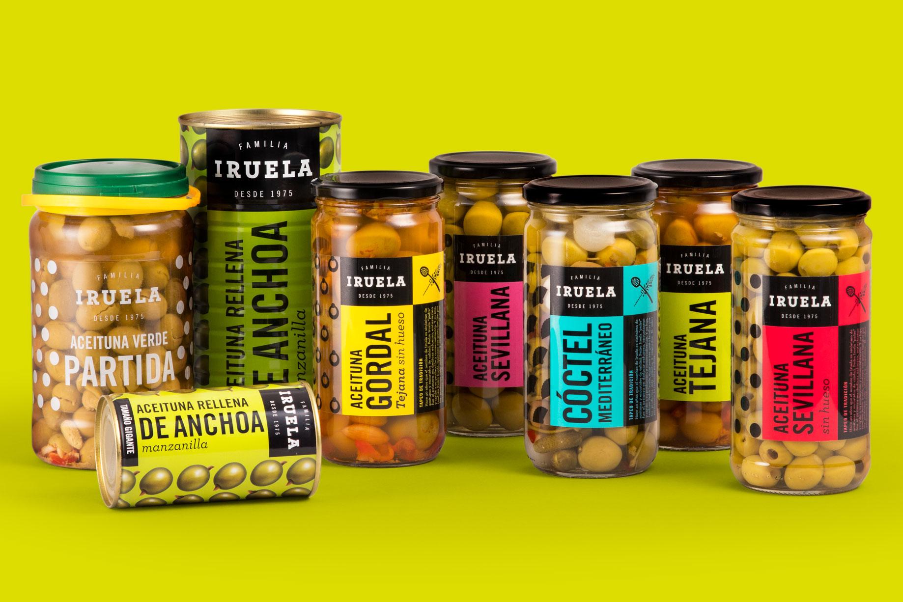Iruela branding identidad corporativa packaging etiquetas diseño gráfico Vibranding