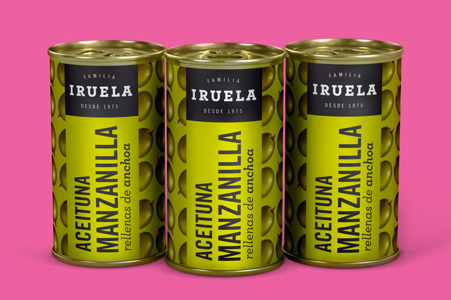 Iruela branding corporate identity packaging labels graphic design Vibranding
