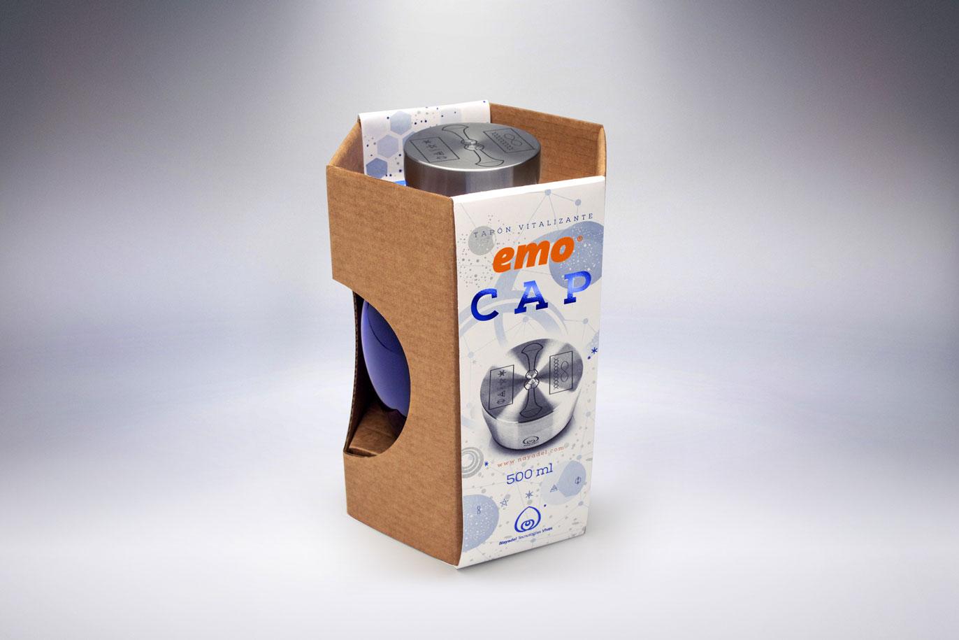 Emo Cap ecopackaging disseny gràfic comunicació gràfica Vibranding