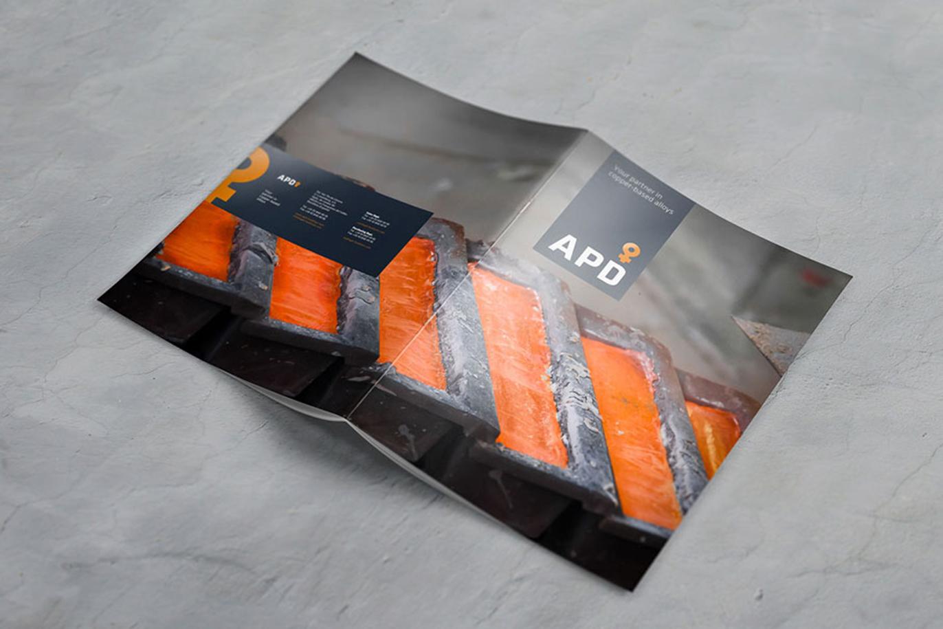 APD branding corporate identity logo design sales material photography web design art direction brochure stationary Vibranding