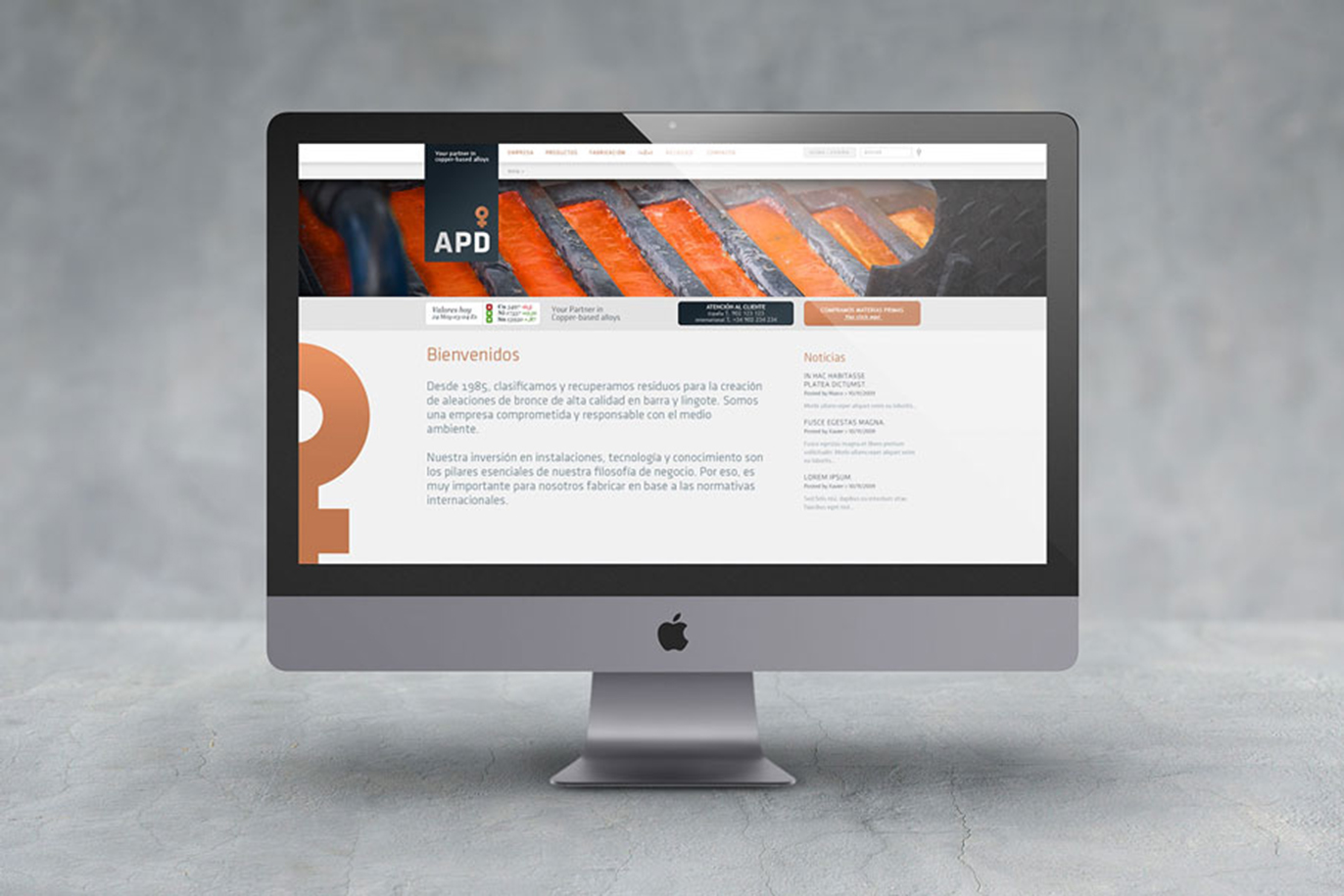 APD branding corporate identity logo design sales material photography web design art direction Vibranding