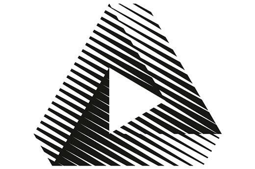 logotipo diseñsdo para el branding identidsd corporativa de Prisma Films por Vibranding