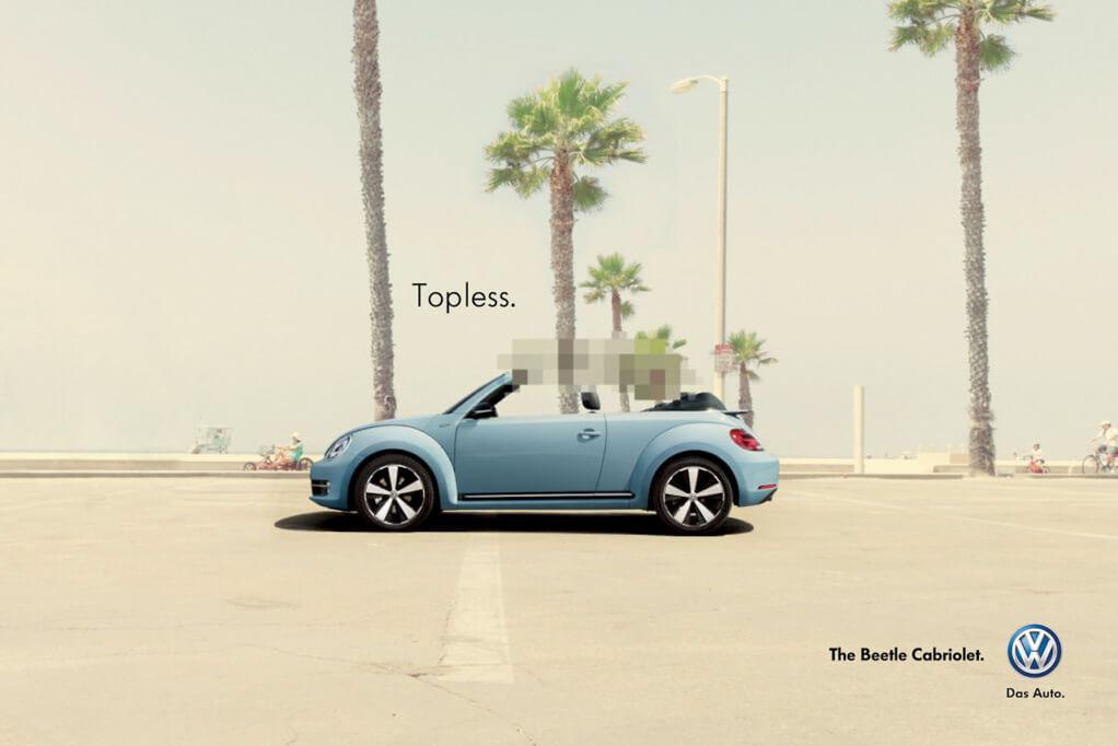 Topless, Beetle