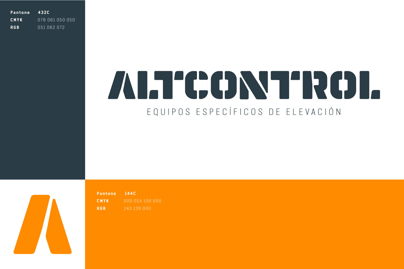 Altcontrol branding naming logo design corporate identity logotype typography style guide Vibranding