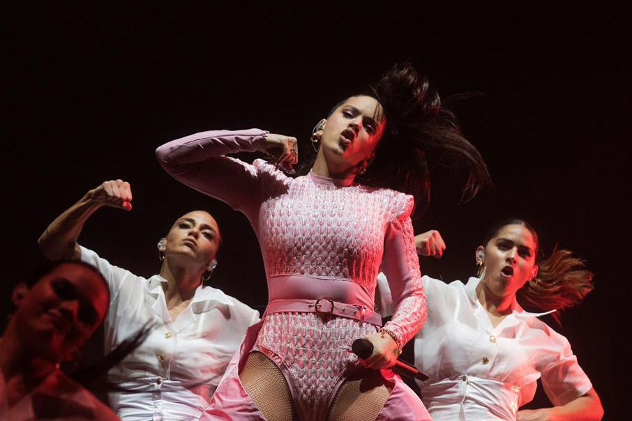 rosalia con altura marca branding marketing aute cuture milionaria j balvin flamenco musica pop el guincho Vibranding