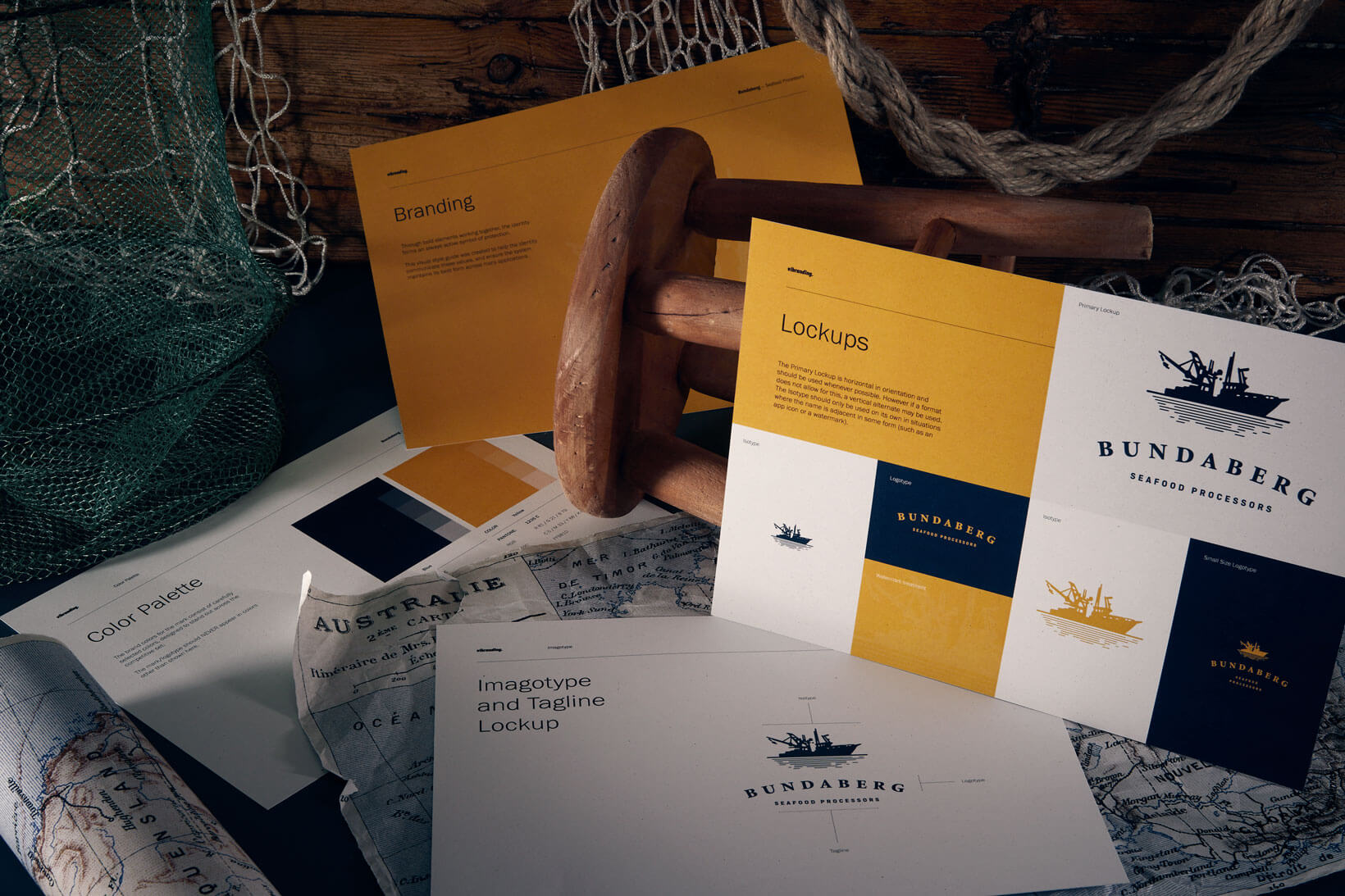 Bundaberg corporate identity logo design graphic design packaging brand book Vibranding