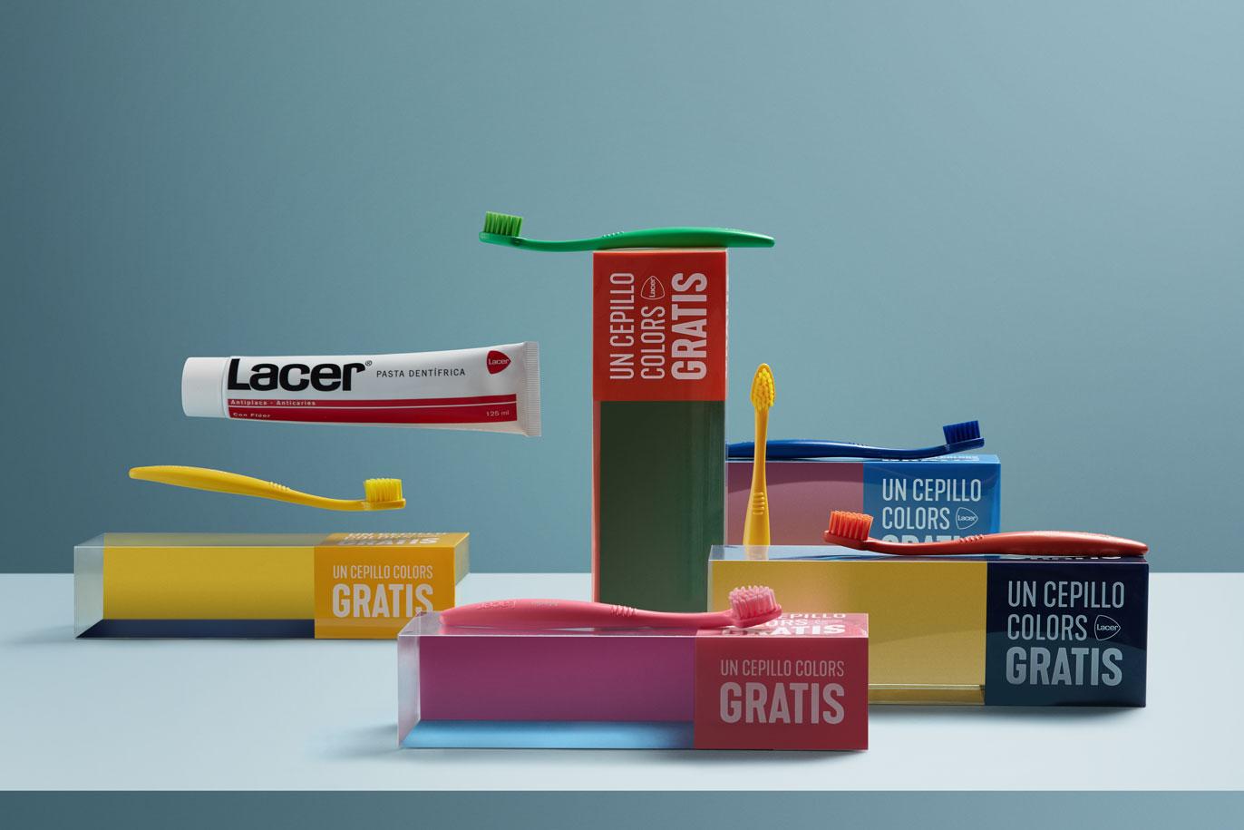 Laboratorios Lacer comunicación gráfica diseño de packaging promocional