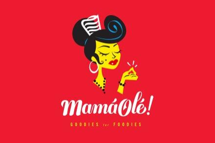 Mamá Olé branding naming brand corporate identity Vibranding