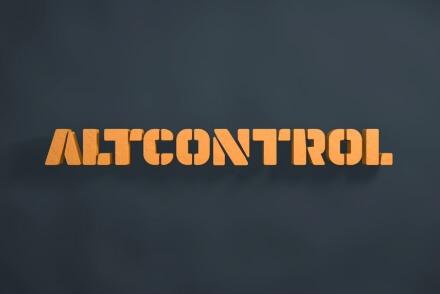 Altcontrol branding  branding naming marca identitat corporativa Vibranding