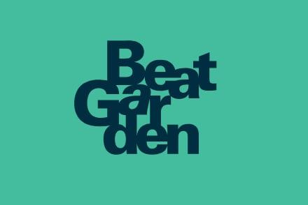 Beat Garden branding diseño de logo marca identidad corporativa Vibranding