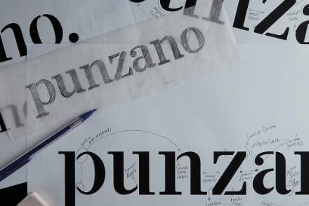 Punzano branding logo design brand corporate identity Vibranding