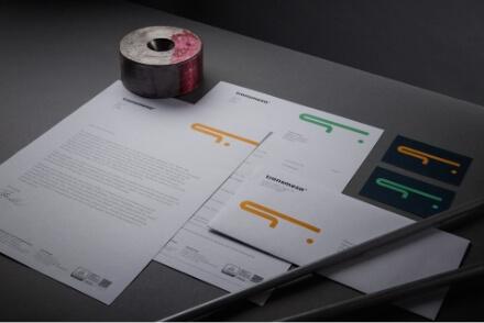 Transmesa branding logo design brand graphic design corporate visual identity Vibranding