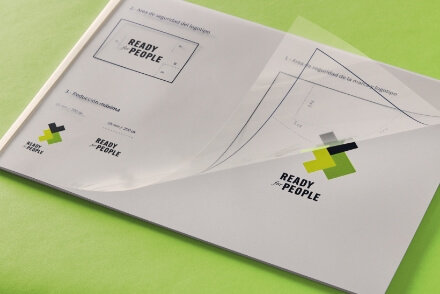 Ready 4 People branding logo design brand graphic design corporate visual identity Vibranding