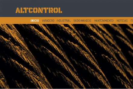 AltControl visual communication web design Vibranding