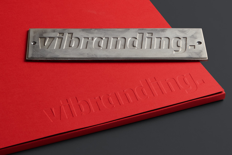 Stationery graphic design branding Vibranding
