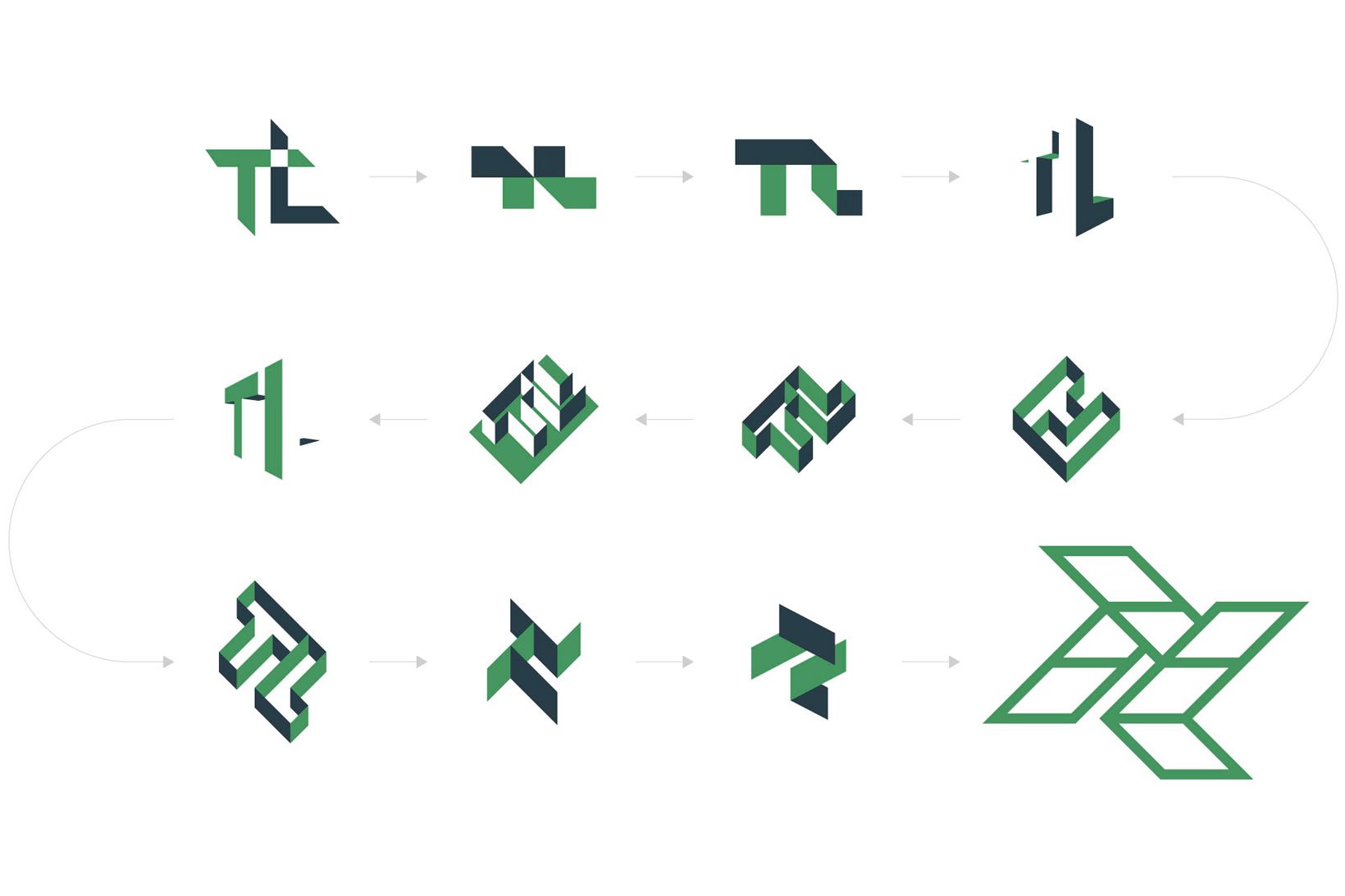 Tesslach logotipo isotipo branding identidad corporativa diseño gráfico Vibranding
