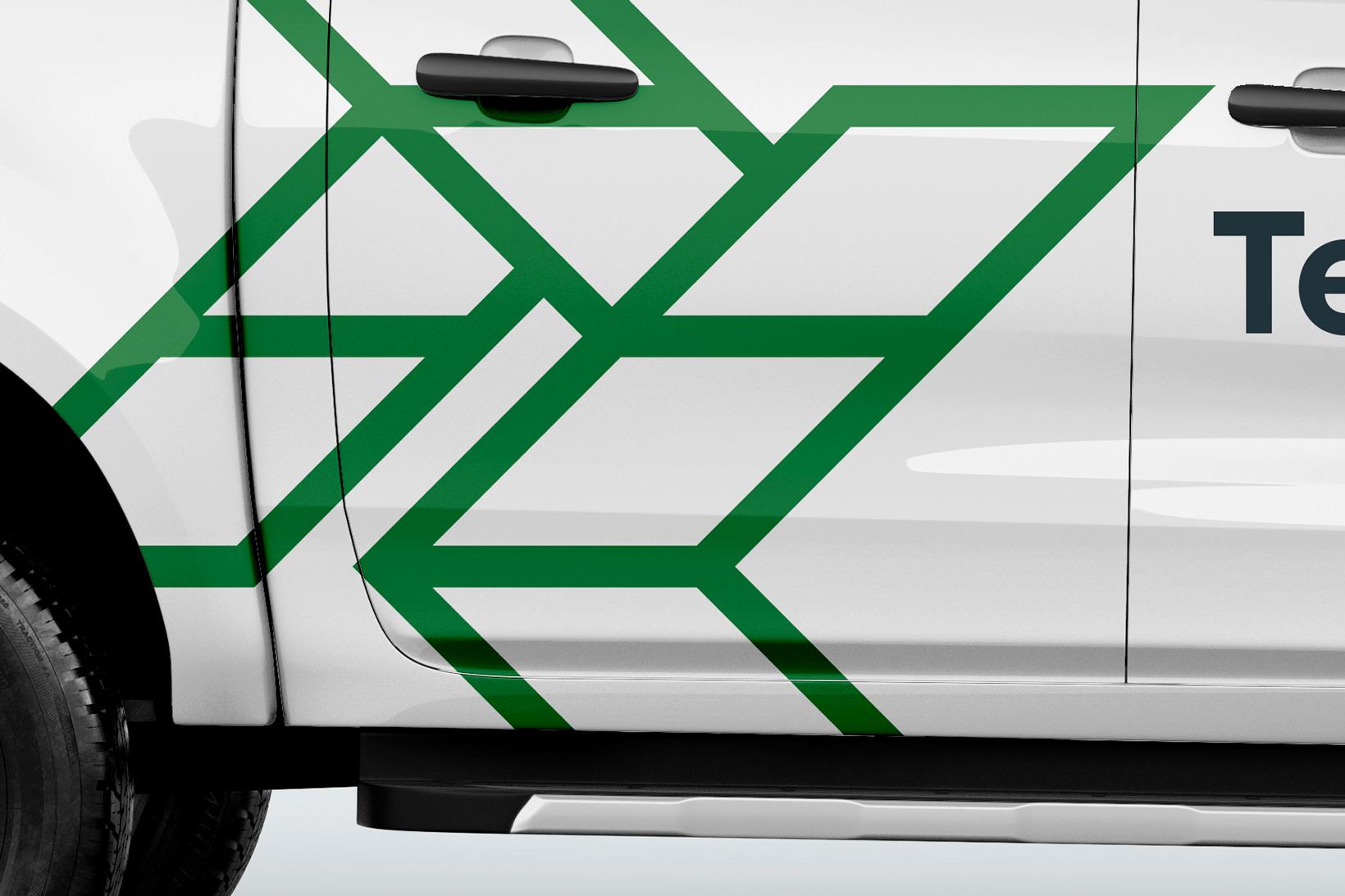 Tesslach branding logo identidad corporativa diseño gráfico Vibranding