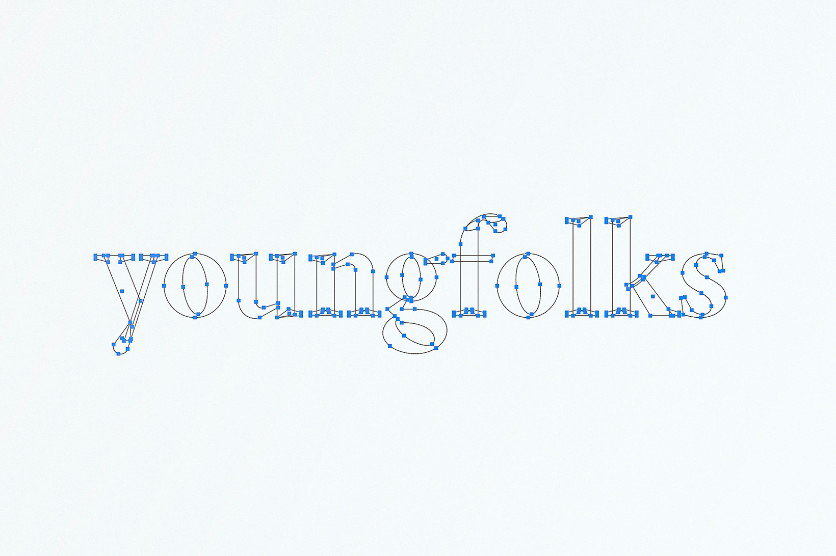 Young Folks digital marketing branding identidad corporativa diseño gráfico logo isotipo Vibranding
