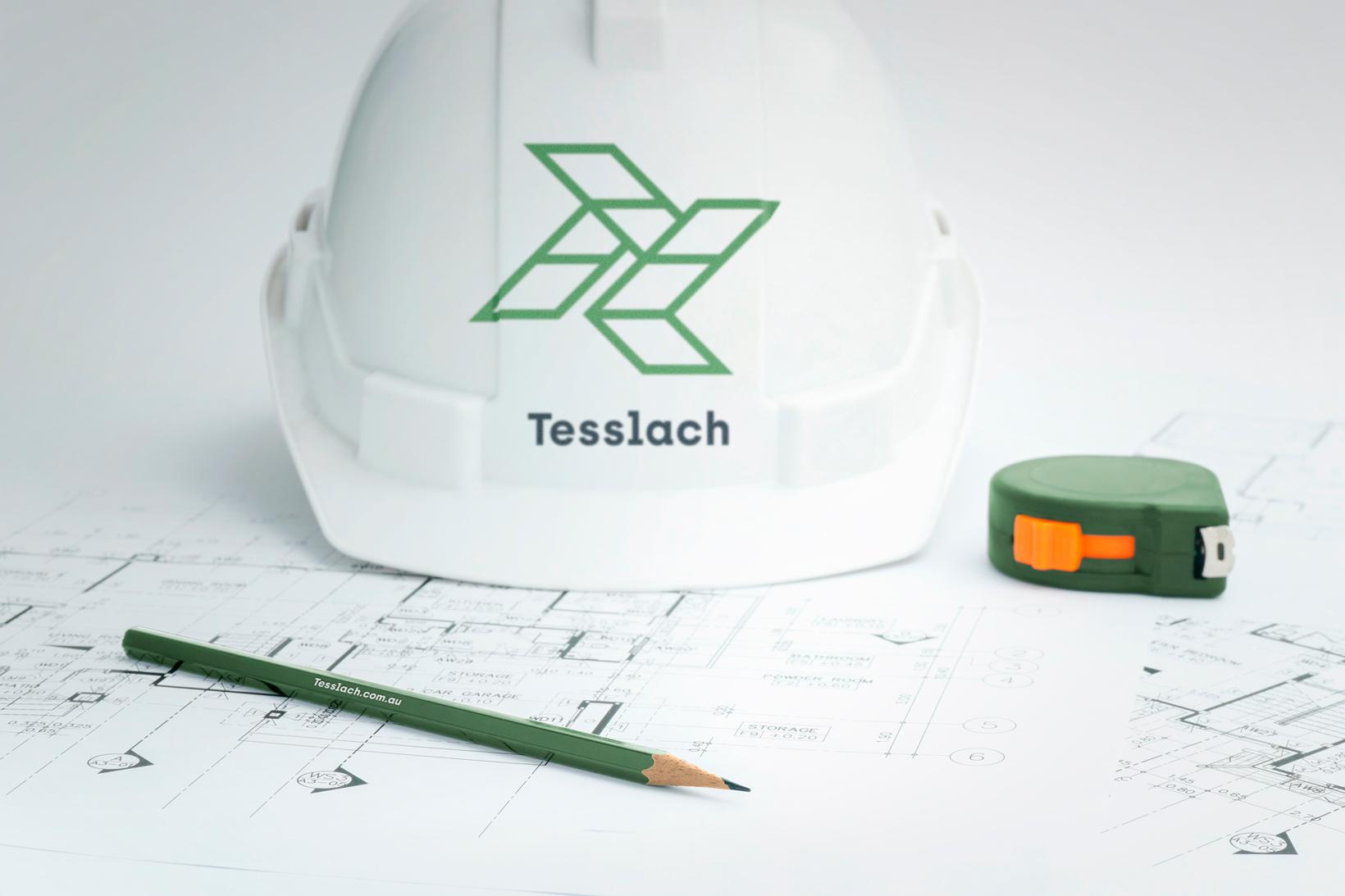 Tesslach branding identidad corporativa diseño gráfico Vibranding