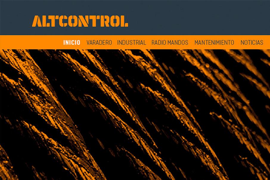 AltControl comunicación gráfica Diseño Web Vibranding