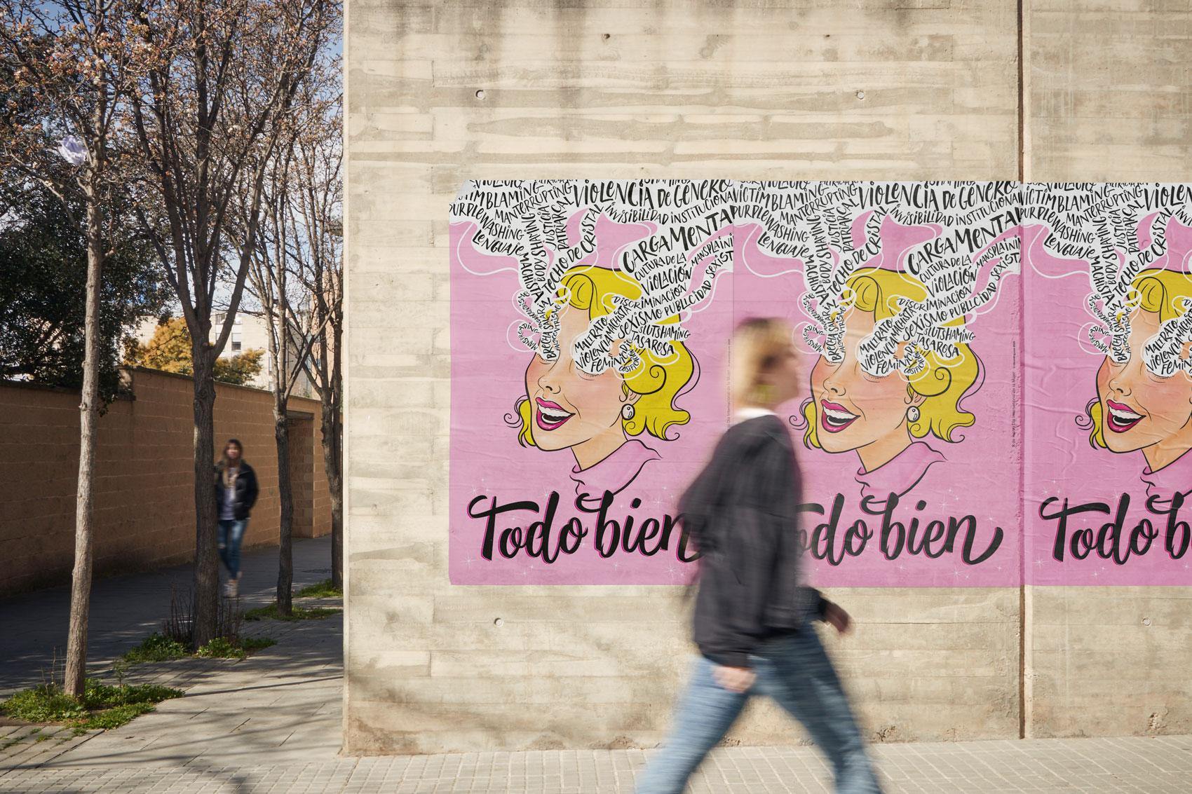 8 de marzo Vibranding Día Internacional de la Mujer feminismo lucha activismo gráfico diseño poster cartel