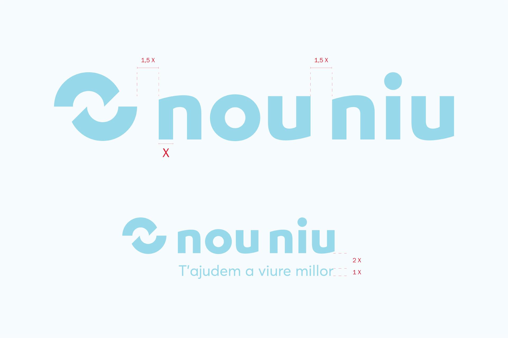 Nou Niu naming branding disseny gràfic logo logotip imagotip Vibranding