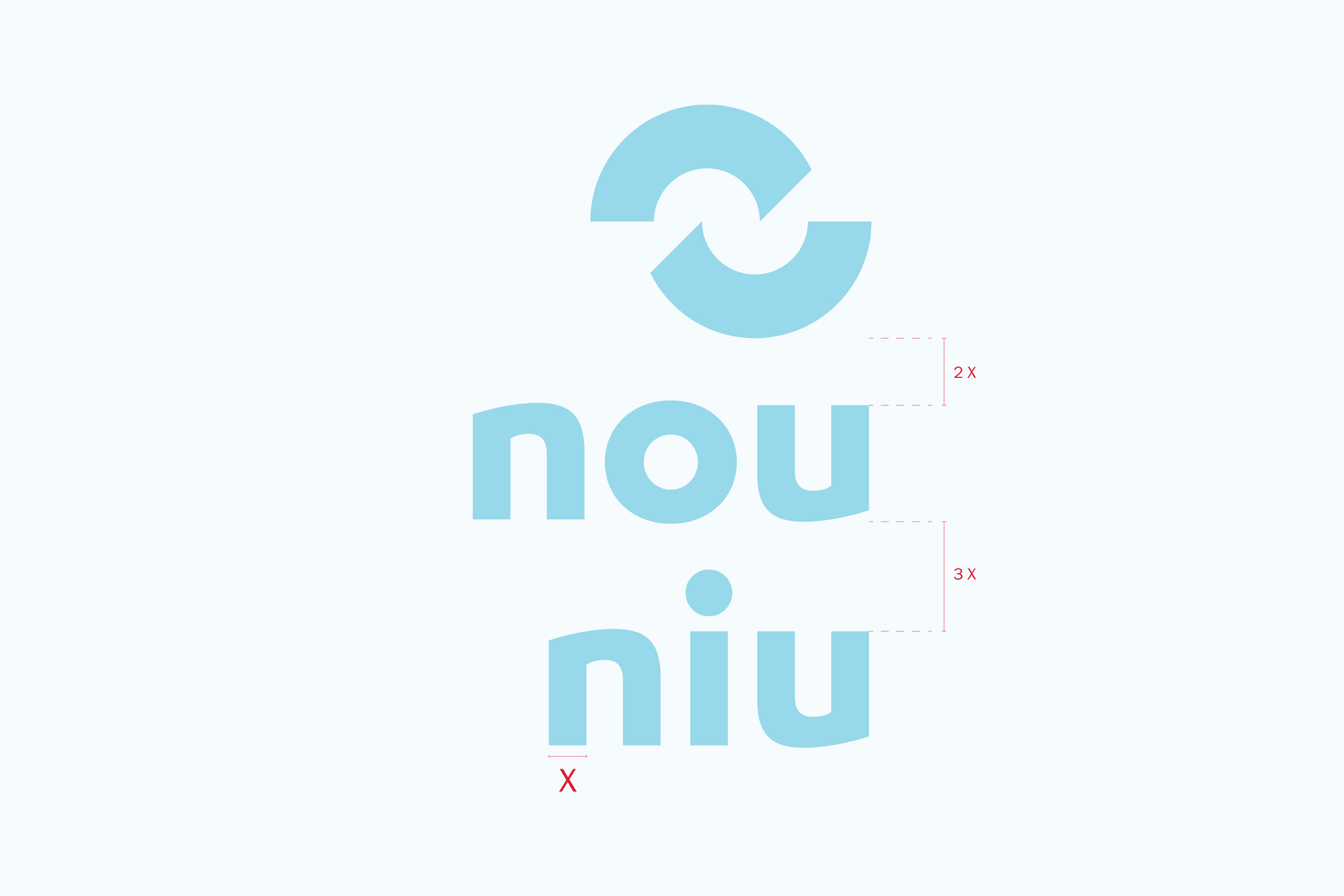 Nou Niu naming branding diseño gráfico logo logotipo Vibranding