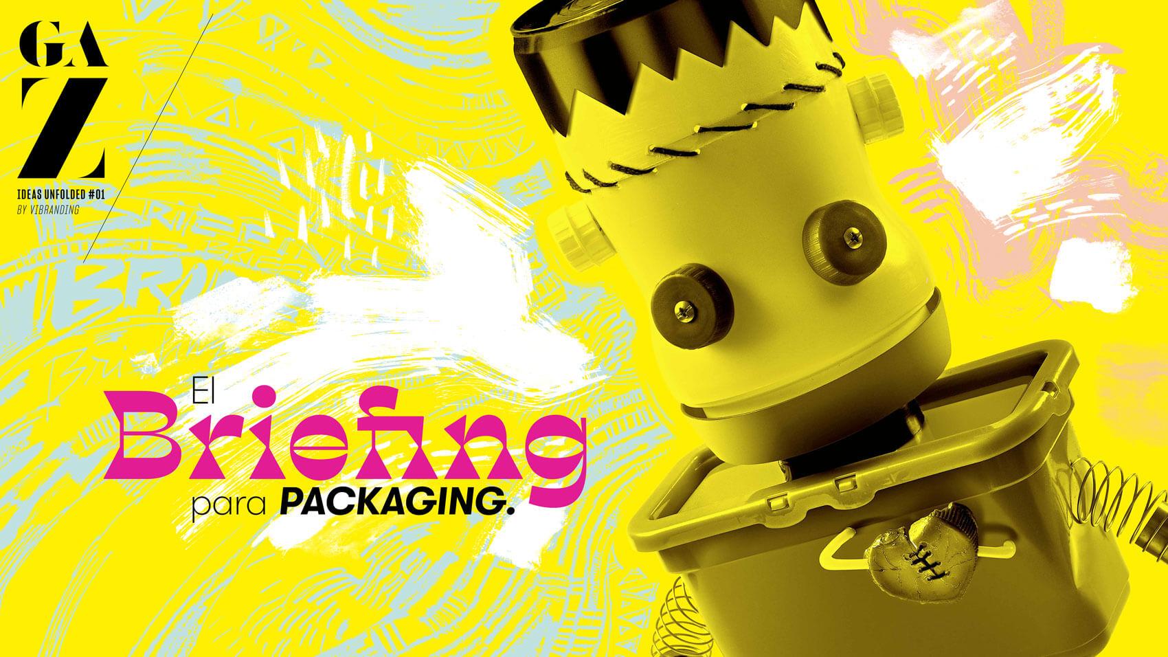GA-Z ideas unfolded packaging briefing branding diseño gráfico editorial ezine marketing Vibranding