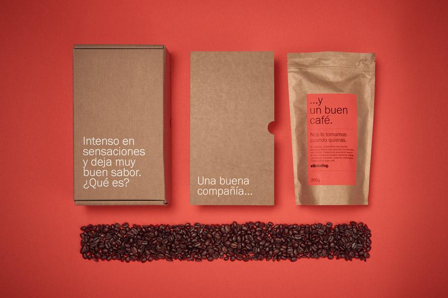 Un Buen Café packaging branding obsequio comercial coronavirus diseño gráfico comunicación unboxing vibranding